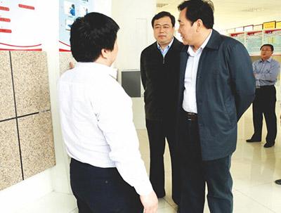 潍坊市委书记杜昌文到巴夫利考察
