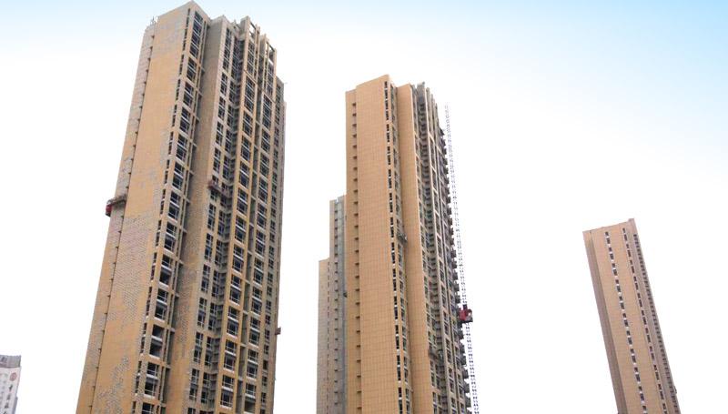 中南地产·泰安财源大街回迁小区住宅楼项目:外墙保温装饰工程