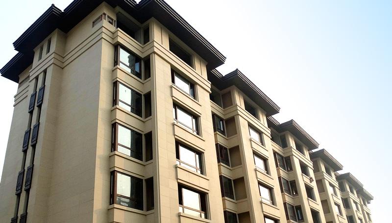 武清城投·熙和园二期:EPS保温装饰一体化板外墙外保温系统
