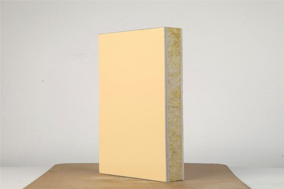 氟碳漆岩棉保温装饰一体化板 (2)