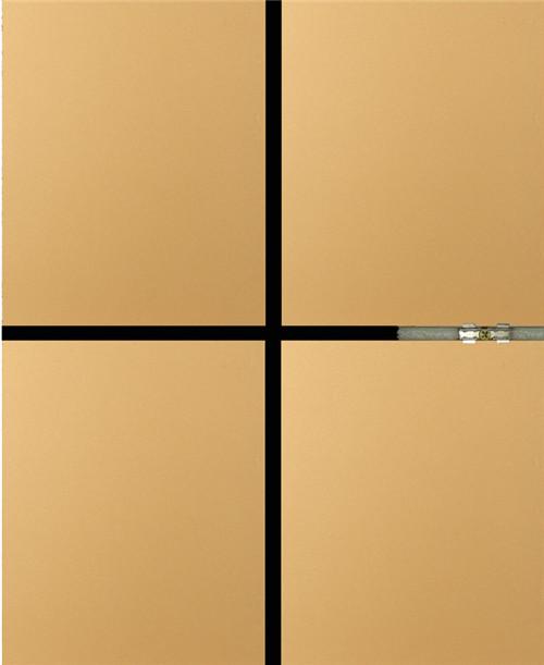 氟碳漆模塑聚苯板保温装饰一体化板