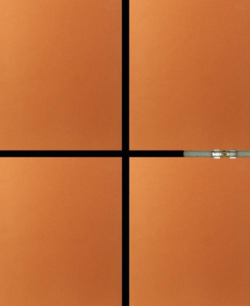 氟碳漆岩棉保温装饰一体化板